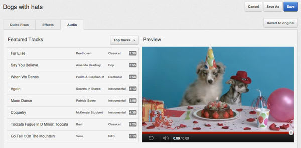 YouTube wants more videos to have background music, adds