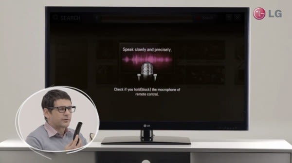Voice Control for LG Smart TVs to roll out by end of April, Magic