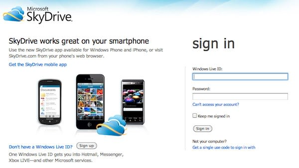 Microsoft SkyDrive impressions: a look at features and