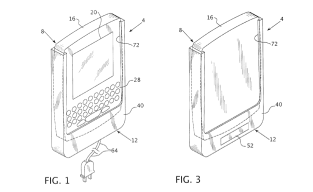 RIM patent proposes battery-charging cellphone holster