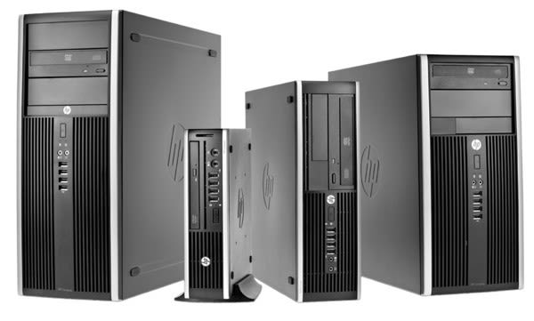 HP intros three Compaq desktops, two displays for the