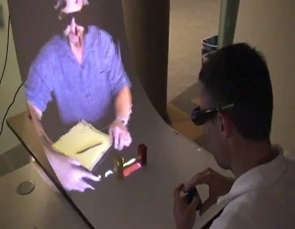 microsoft research s miragetable brings some augmented reality to