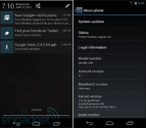 Android 4 1 SDK hands-on