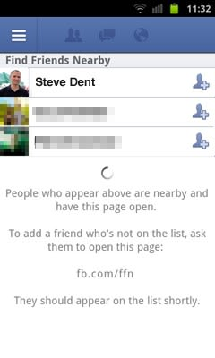 Facebook's Find Friends Nearby feature falls off the map