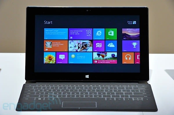 Hands-on with Microsoft Surface for Windows RT, Touch Cover