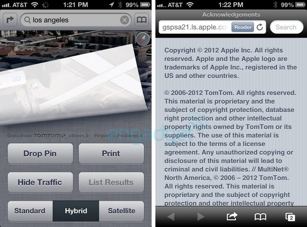 Apple selects TomTom as primary iOS 6 maps provider (update