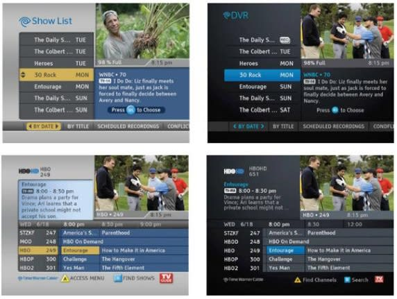 Time Warner Cable starts rolling out lightly refreshed guide