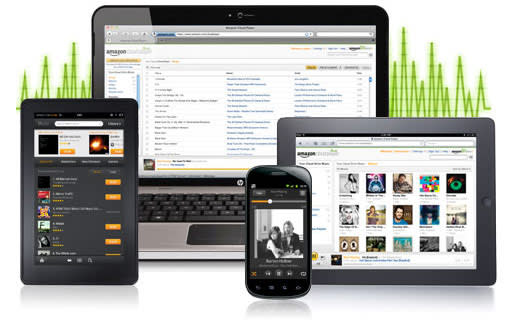 Amazon updates Cloud Player with 256 Kbps matched files, faster