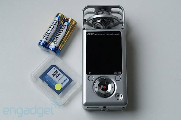 Zoom Q2HD Handy Video Recorder lets you stream and record on the