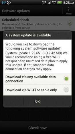 HTC EVO 4G LTE software update begins rollout today