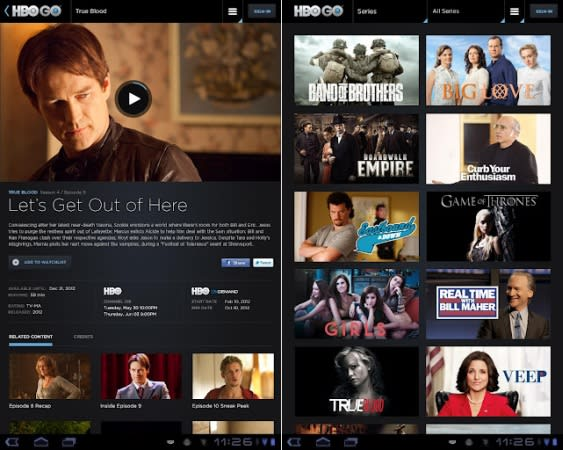 HBO Go for Android adds HDMI video output, at last