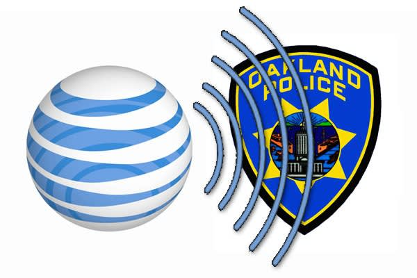 AT&T suspends 2G in Oakland after cell towers step on police