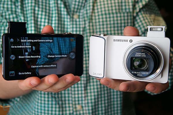 Samsung's WiFi-only Galaxy Camera ships this month for $450