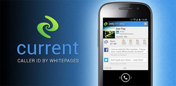 Current Caller ID app adds social info, weather details