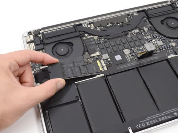 Ifixit produces repair manual for macbook pro with retina display.