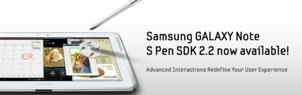 Samsung updates S Pen SDK to spread love for Galaxy Note II