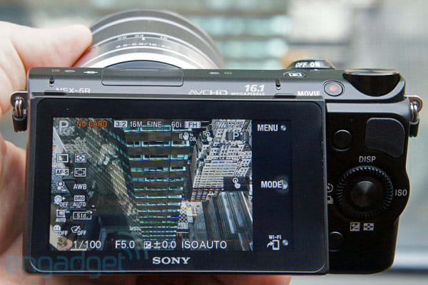 Sony announces 16 1MP NEX-5R with Fast Hybrid AF, WiFi and