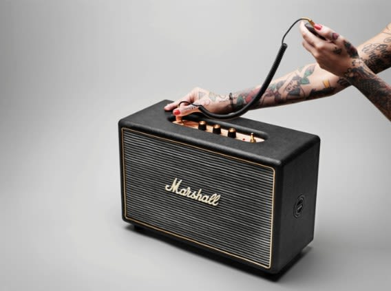 Marshall's Hanwell HiFi speaker is bred from guitar amps, at