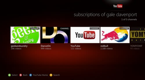 Xbox 360 YouTube app update rolls out with 5x speed improvement