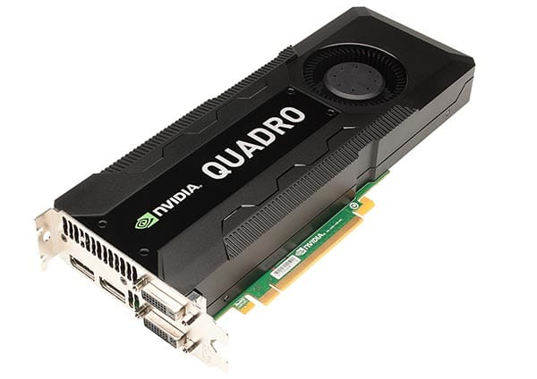 NVIDIA announces Quadro K5000 for Mac Pro, brings 4K support