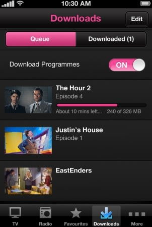 BBC iPlayer for iOS update coming with downloads and offline