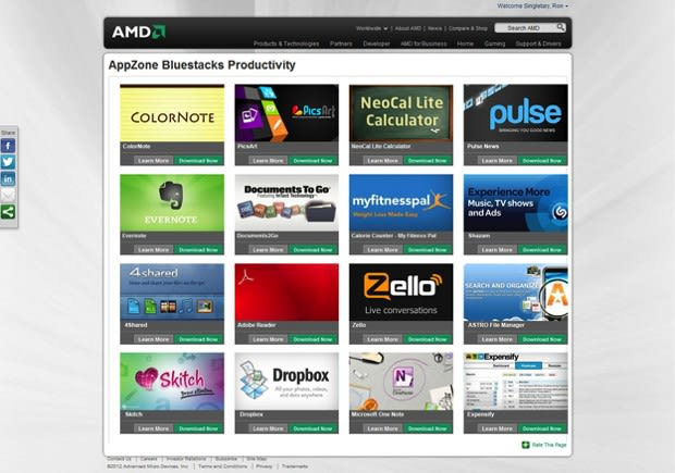 BlueStacks teams with AMD to optimize Android App Player for