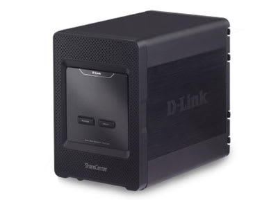 D-Link Cloud Storage 4000 NAS stores up 16TB, hooks up to your