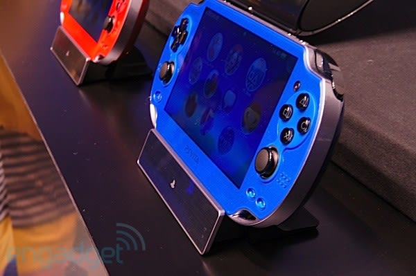 Sony announces Cosmic Red and Sapphire Blue PlayStation Vita