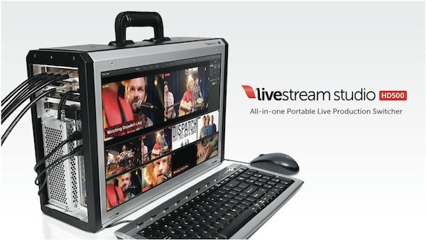 Livestream announces Studio HD500 all-in-one video switcher