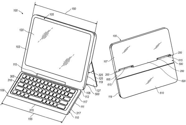 RIM applies for patent on tablet with concealable keyboard
