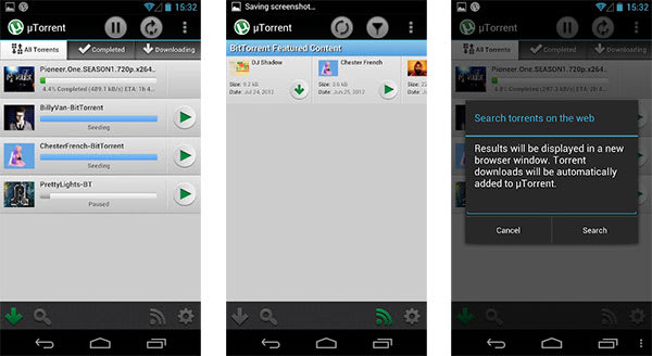 torrent software android phone