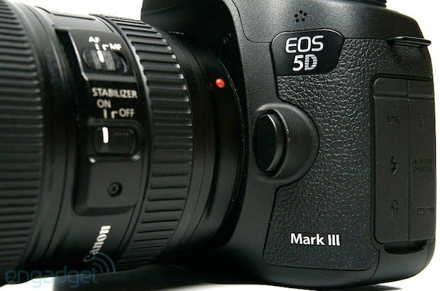 Canon's upcoming 5D Mark III firmware update brings