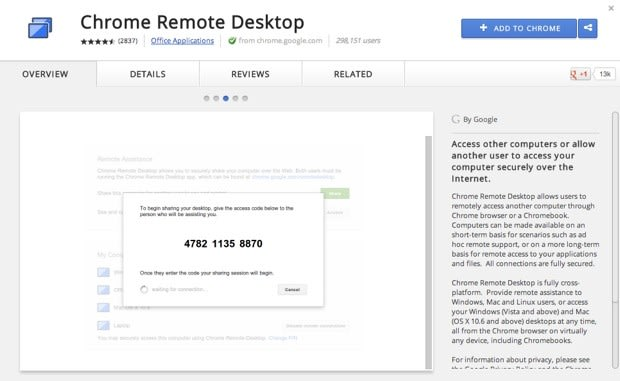 Chrome Remote Desktop comes out of beta, adds real-time