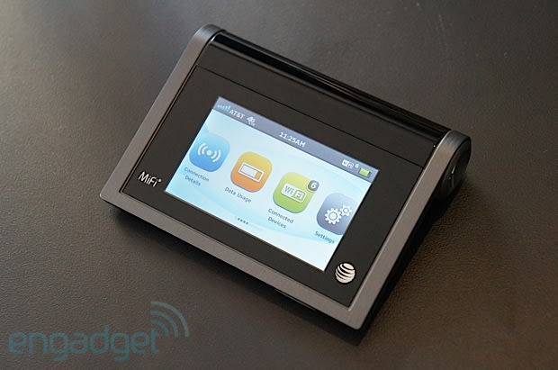 Novatel Wireless MiFi Liberate MiFi for AT&T hands-on