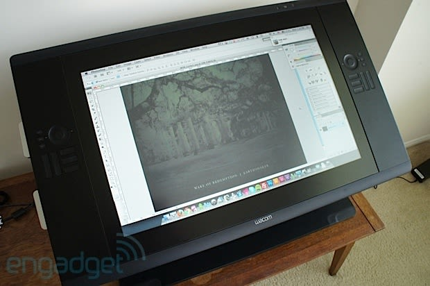 Wacom Cintiq 24HD touch review: the pen-enabled display tacks on