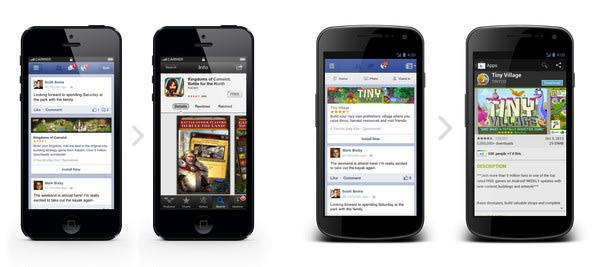 Facebook opens mobile ads for apps to all developers, keeps them on