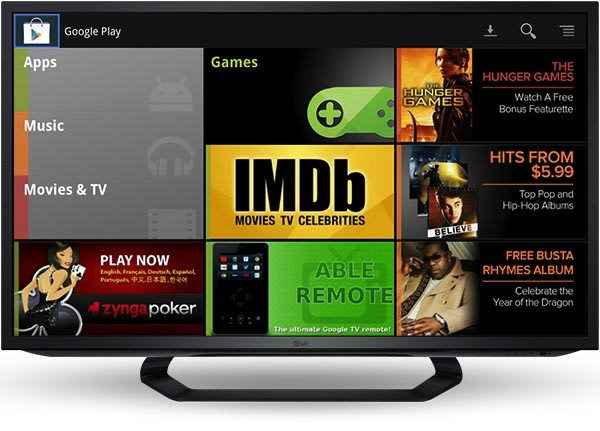 Google Play Music and Movies purchasing reaches Google TV