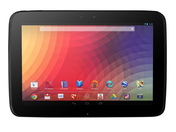 Google's Nexus 10: 2,560 x 1,600, 300 ppi display and