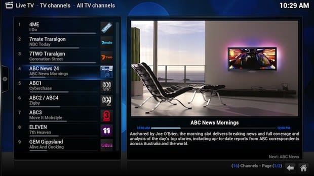 XBMC celebrates 10 years, latest build works in mainline PVR and