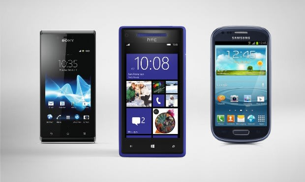 Windows Phone 8X, Galaxy S III Mini and Xperia J available on Three