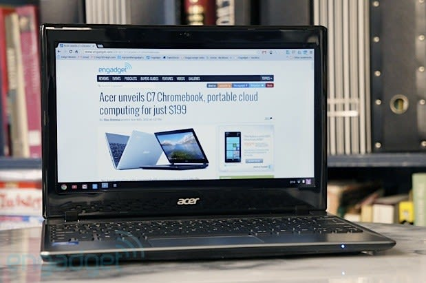 Acer C7 Chromebook review: Chrome OS on the cheap, but at
