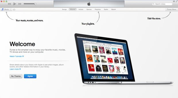 iTunes 11 now available to download: fresh design, more