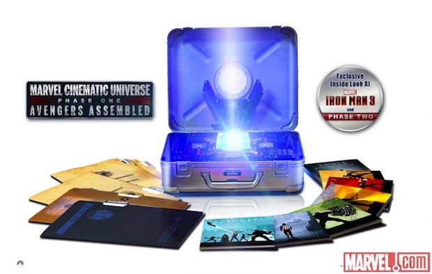 Marvel Cinematic Universe: Phase One Blu-ray set is back on