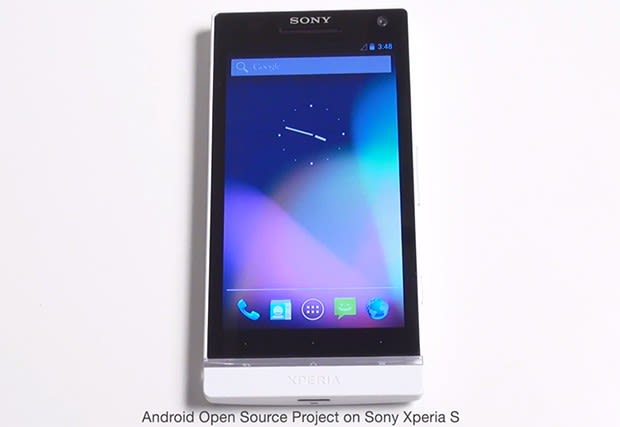 google kicks xperia s android open source project out of its nest