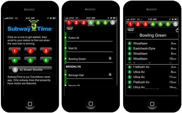 Mta Subway Map For Iphone.Mta App For Iphone Offers New Yorkers Real Time Subway Arrivals A
