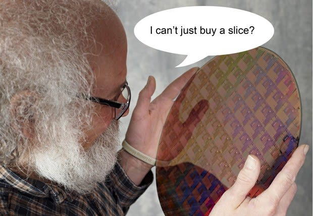 AMD cuts silicon wafer order by three quarters, gets a nasty