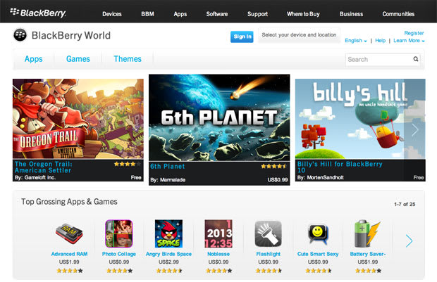Blackberry App World store makes early switch to Blackberry World