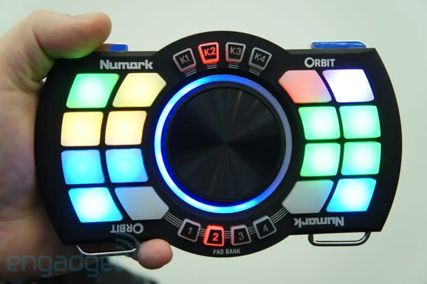Numark Orbit wireless MIDI DJ controller hands-on (video)