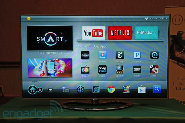 Hisense XT780 3D Smart TV with Google TV at CES 2013, we go eyes-on