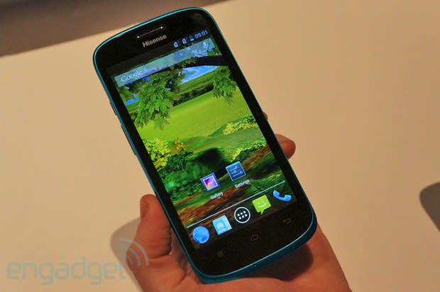 Hands-on with HiSense's first quad-core Android phone, the U958